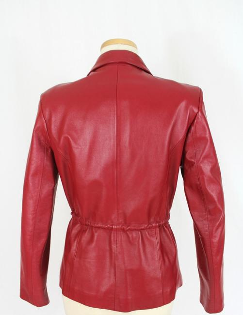RogWiller Red Leather Jacket