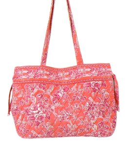 Vera Bradley Very Cotton Tote in Pink