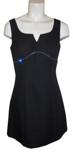 Roberta Cocktail Rhinestone Sleevless Shift Dress