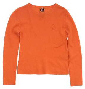 Tory Burch Orange Cashmere Sweater