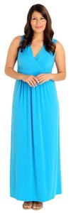 Turquoise Maxi Dress by Kate & Mallory