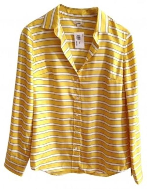 Preload https://item3.tradesy.com/images/jcrew-yellow-boy-shirt-stripe-button-down-top-size-6-s-138827-0-0.jpg?width=400&height=650