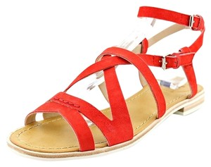 French Connection Lipstick Red Sandals