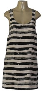 J.Crew short dress BEIGE/BLACK on Tradesy