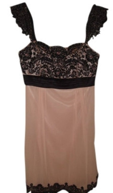 Preload https://img-static.tradesy.com/item/13884/sue-wong-pale-pink-with-black-lace-and-delicate-beading-silk-sheath-mini-cocktail-dress-size-6-s-0-0-650-650.jpg
