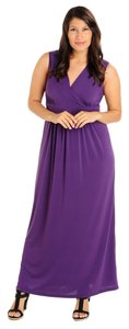 Purple Maxi Dress by Kate & Mallory