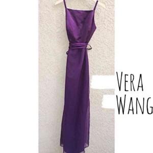 Vera Wang Purple Dress