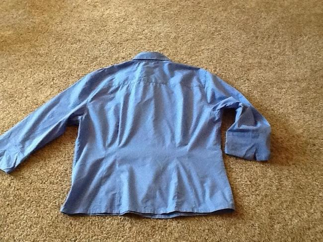 Talbots Top Blue