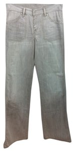Diesel Grey Jeans Straight Pants LIGHT GREY