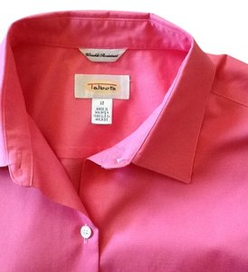 Talbots Sleeveless Top Pink