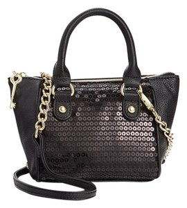 Betsey Johnson Sequin Front Cross Body Bag
