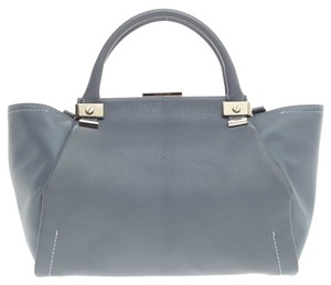 Lanvin Leather Satchel in Gray
