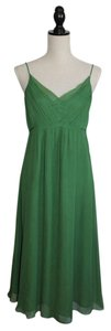 Emerald Green Silk Maxi Dress by AK Anne Klein