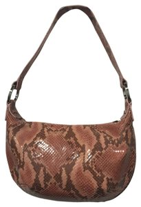 Donald J. Pliner Snakeskin Shoulder Bag