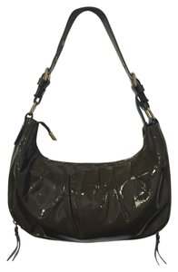 INNUE' Patent Hobo Made In Italy Shoulder Bag