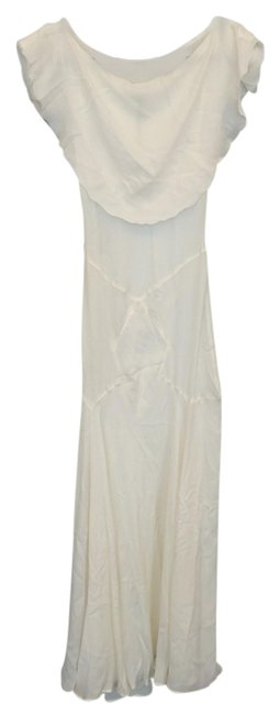 Ivory Maxi Dress by Other Wedding Bohemian Rehersal Dinner Full Length