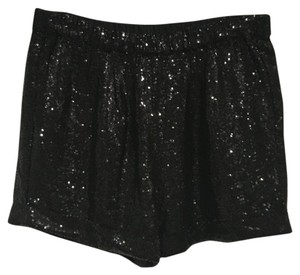 Sachin + Babi Dress Shorts Black sequin