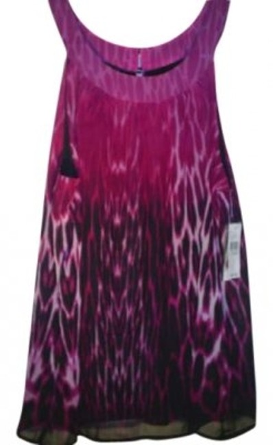 Preload https://item1.tradesy.com/images/ab-studio-pink-and-black-sleeveless-tunic-size-16-xl-plus-0x-138885-0-0.jpg?width=400&height=650
