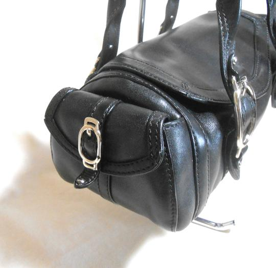 Cole Haan Small S Leather Gucci Bags Recently Listed Satchel in Black