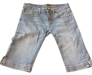 bebe Bermuda Shorts blue