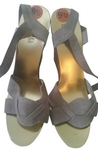 Michael Kors taupe Wedges