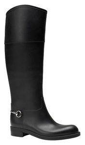 Gucci Rubber Rain black Boots