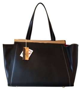Other/Carbotti Leather Tote in Black