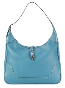 Hermès Blue Hr.k0224.10 Ii Swift Hobo Bag