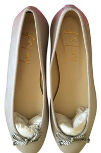 French Sole Classic Ballet Silver Metallic Flats
