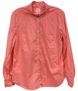 Gap Button Down Shirt Orange, Pink