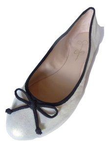 Jessica Simpson Ballet Leather Iridescent Flats