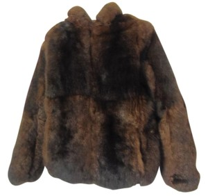No label, removed. Tag in pocket Fur Coat