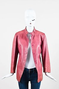 Burberry Prorsum Rose Button Pink Jacket