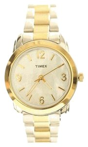 Timex Timex T2N969 Womens Classics MOP Dial Two Tone SS Bracelet Watch