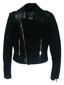 True Religion black Leather Jacket
