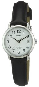 Timex Timex T2H331 Women's Silver Analog Watch With White Dial