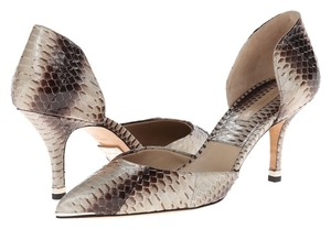 Michael Kors Java Genuine Snake Pumps