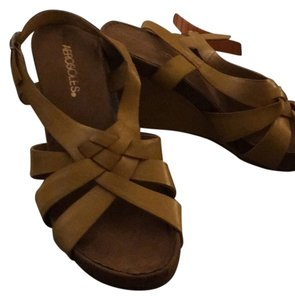 Aerosoles Wedge Color Mustard AND A PAIR IN BLACK! Sandals