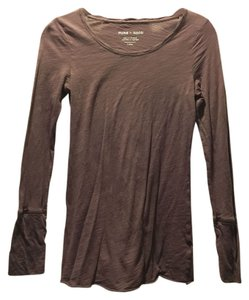 Anthropologie T Shirt Dusty Purple