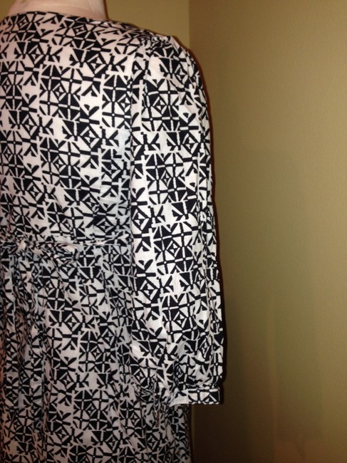 Guess short dress Black White Size M on Tradesy