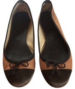 J.Crew Brown and black Flats