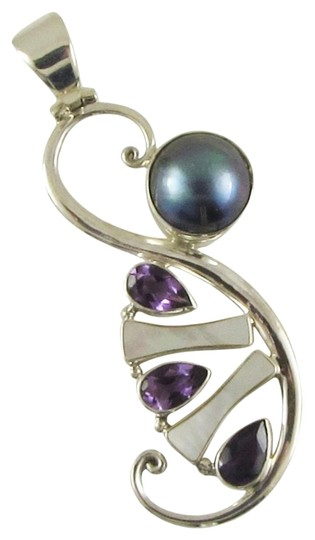 Preload https://item3.tradesy.com/images/island-silversmith-island-silversmith-925-sterling-silver-pearl-and-amethyst-pendant-0401p-free-shipping-1389557-0-1.jpg?width=440&height=440