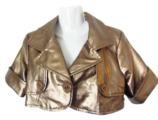 Preload https://img-static.tradesy.com/item/1389626/max-rave-trench-cropped-gold-leather-jacket-1389626-0-0-650-650.jpg