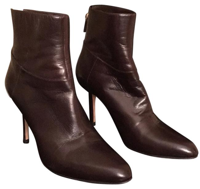 Item - Brown Leather 39 Euro Boots/Booties Size US 8.5 Regular (M, B)