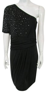 Vince Camuto One Blouson Bodycon Sequin Above Knee Dress