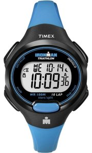 Timex Timex T5K526 Women Ironman Blue Resin Quartz Watch