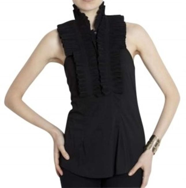 Preload https://item1.tradesy.com/images/bcbgmaxazria-black-pleated-halter-night-out-top-size-4-s-138965-0-0.jpg?width=400&height=650