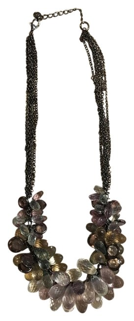 Item - Multicolor Beaded Statement Necklace