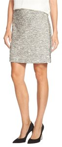 Vince Camuto Spring New Release Limited Pencil Side Zip Skirt TWEED