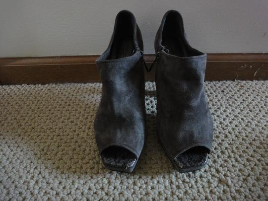 Linea Paola Suede Leather Grey Boots